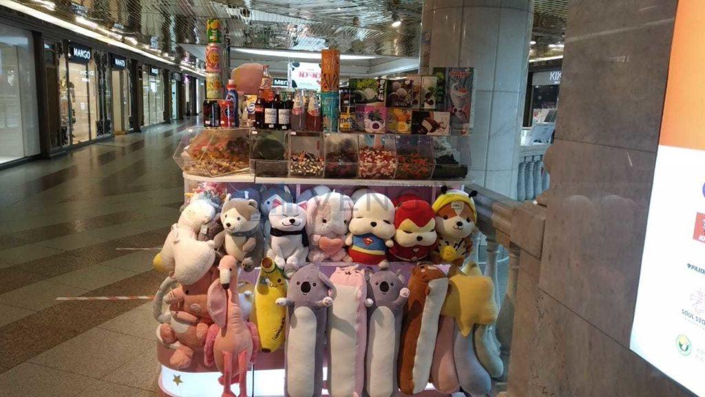 Торговая точка игрушек